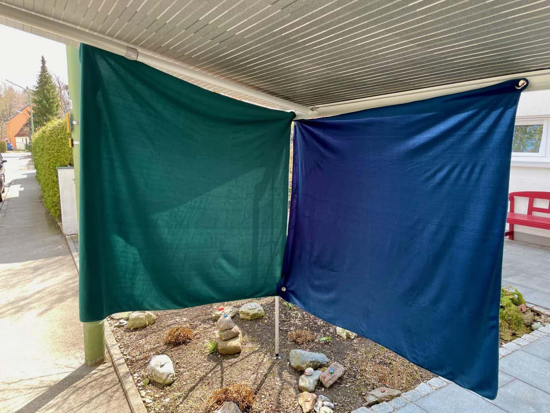 Sonnenschutz-Markise-Magnet-Metallplatte-3M-Klebepad-Microfaster-Wolldecken-ums-Eck