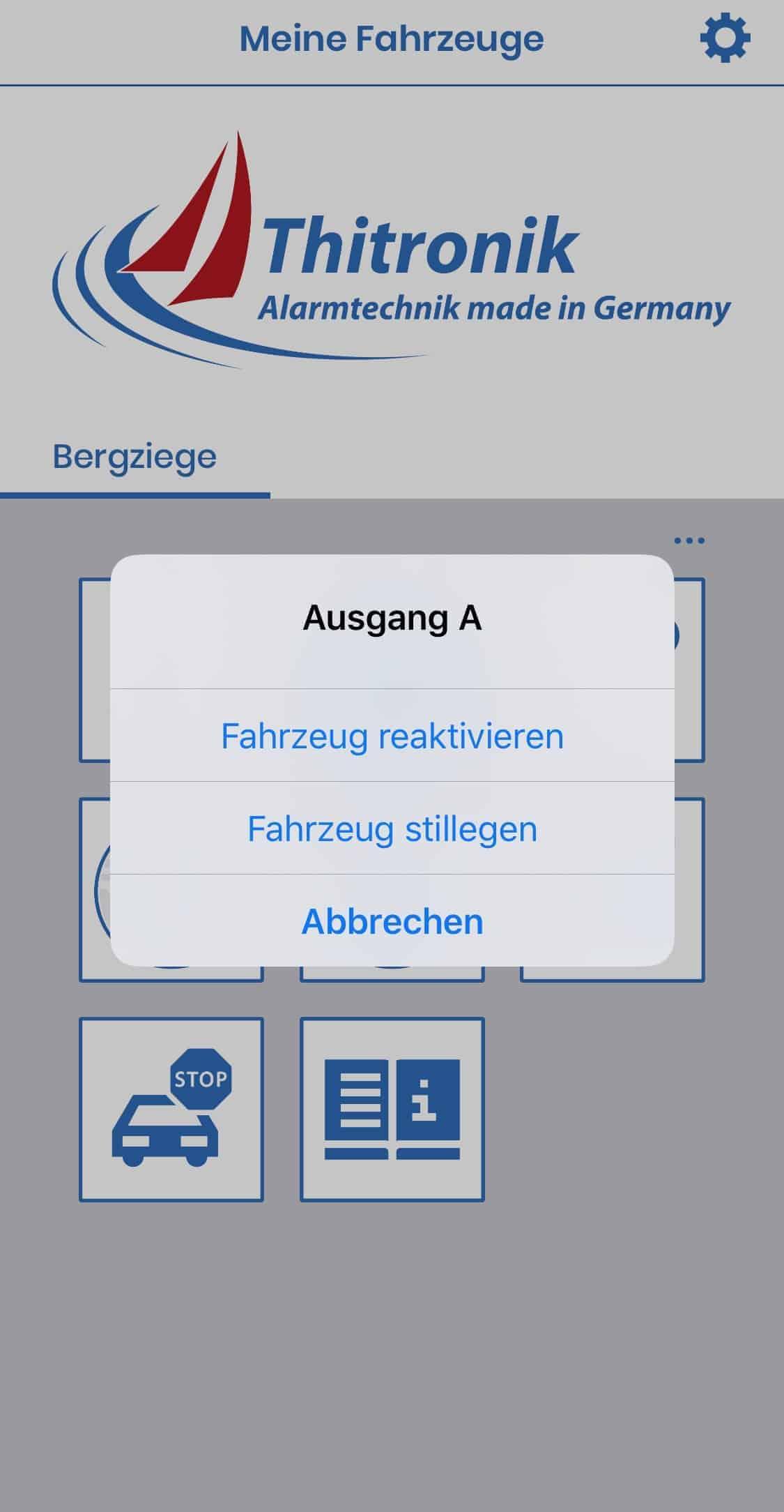 Thitronik_App_Fahrzeug_stillegen_und_ausser_Betrieb_nehmen