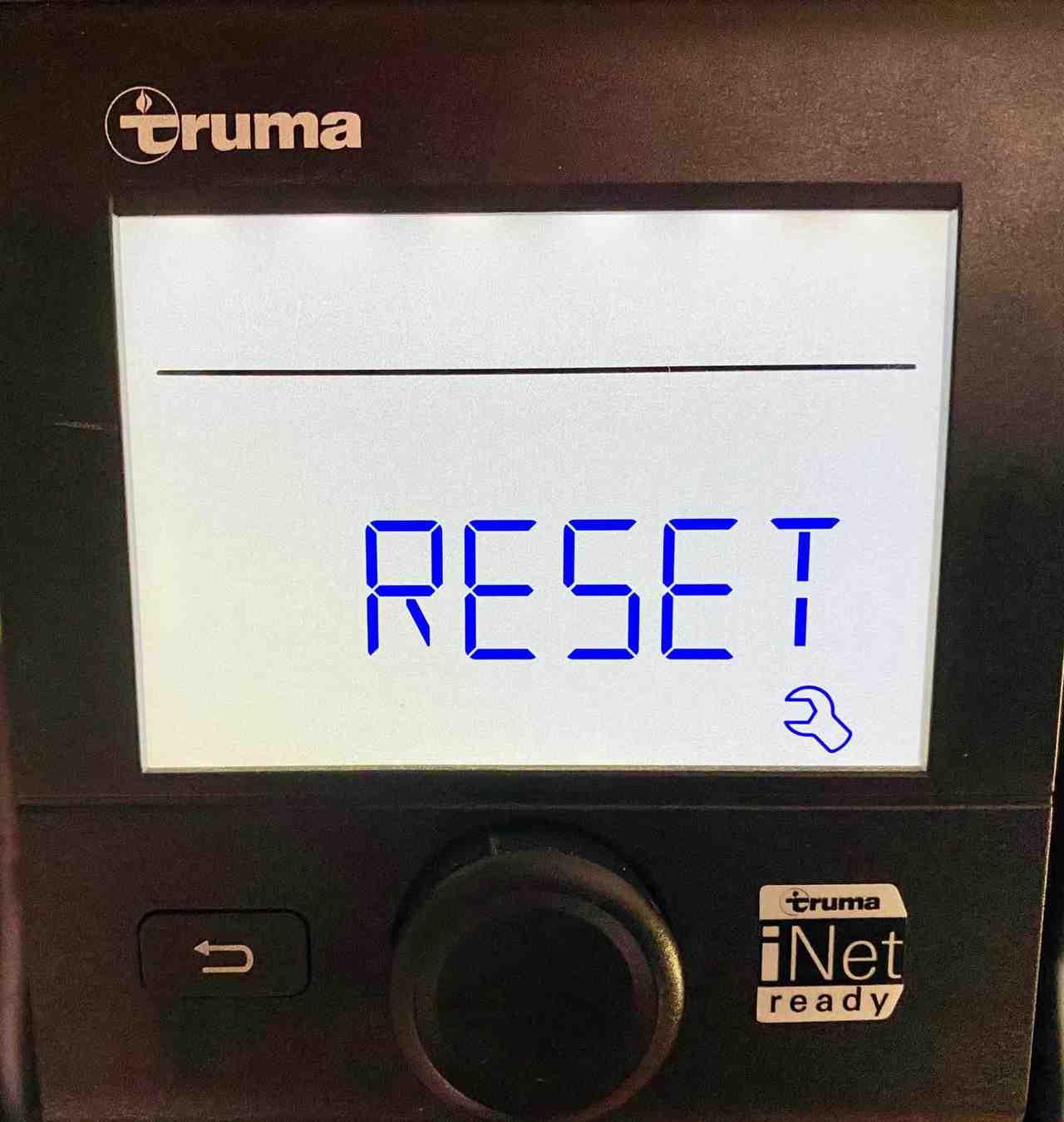 Truma-CP-Plus-Menü-Servicemenue-Einstellungen-Reset-Werkseinstellungen