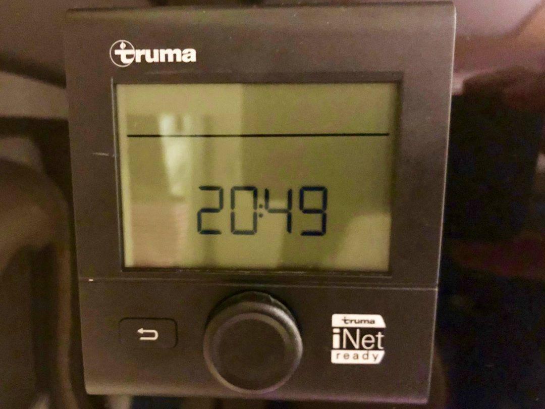Truma CP Plus eingebaut