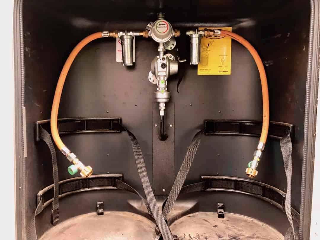 Truma Gasregler Gasfilter Komplett