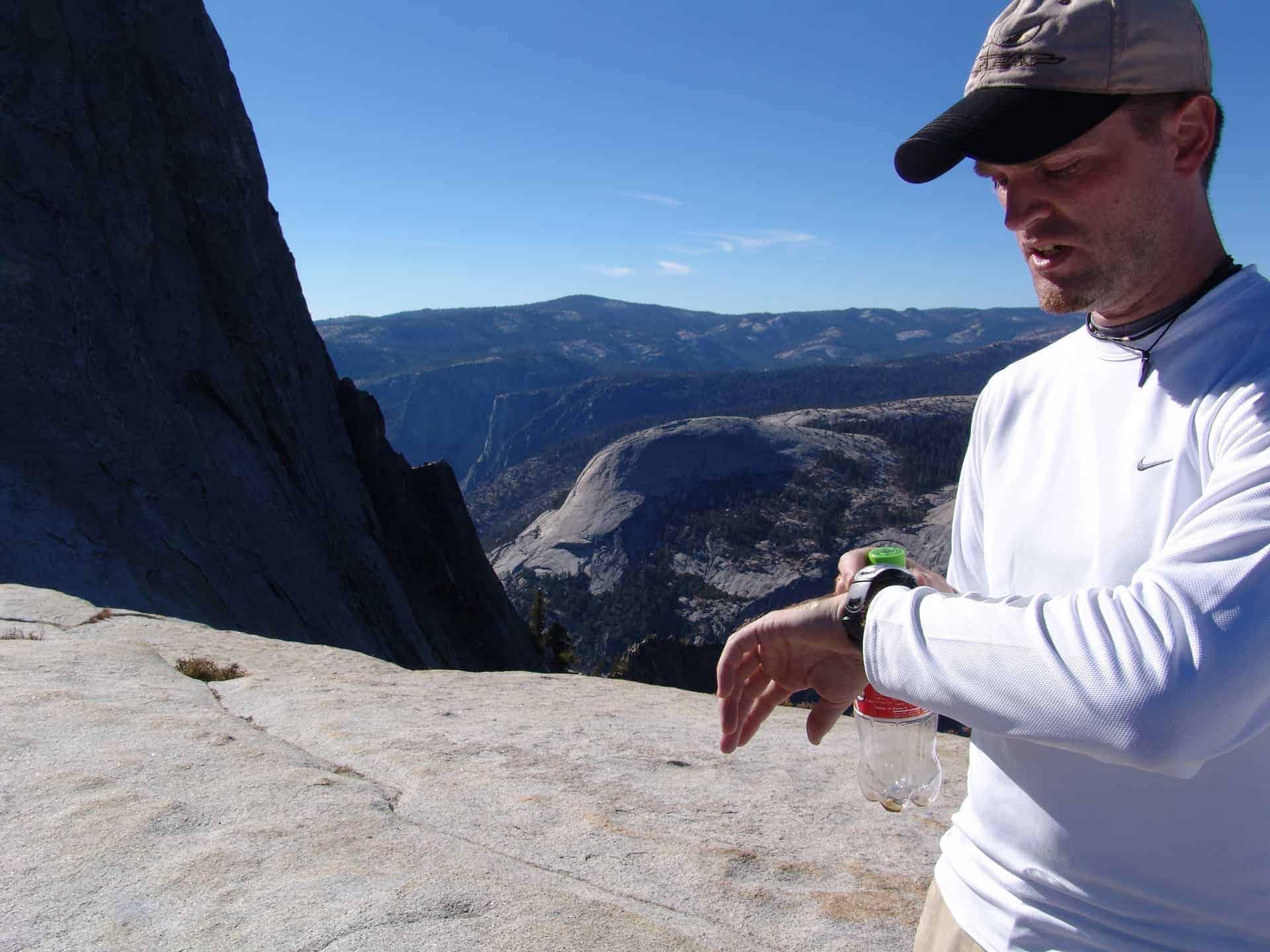 USA_Yosemite_Half_Dome_Es_wird_spät