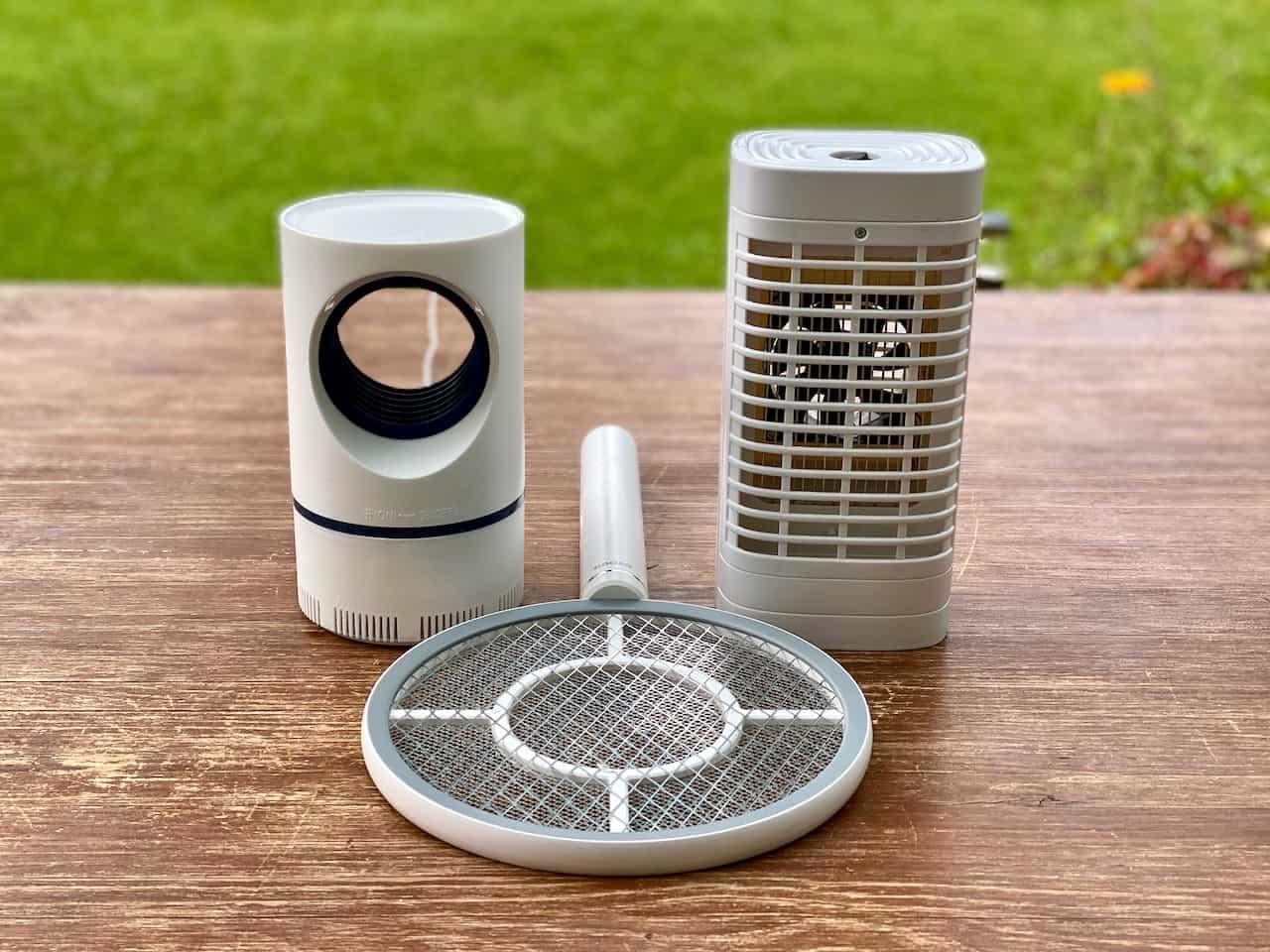 UV-Insektenvernichter-Mückenvernichter-Mückengriller-Fliegenklatsche-