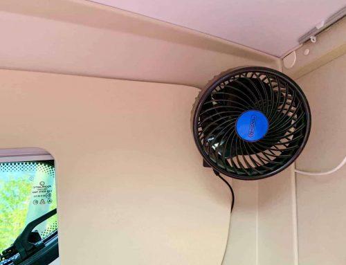 20 Euro Ventilator beim Camping statt Klimaanlage