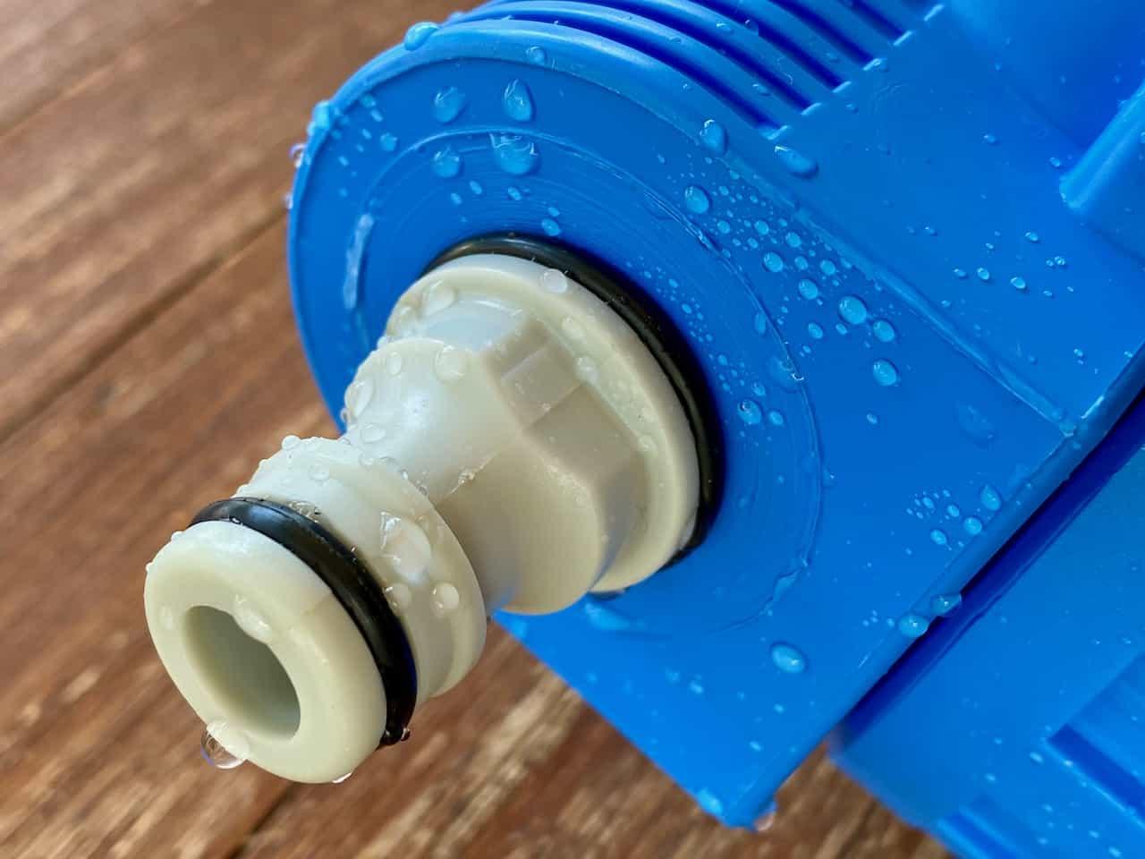 WM-aquatec-Wasserfilter-Set-Mobile-Edition-Umbau-mit-Gardena-Adapter-Dichtigkeitsprüfung