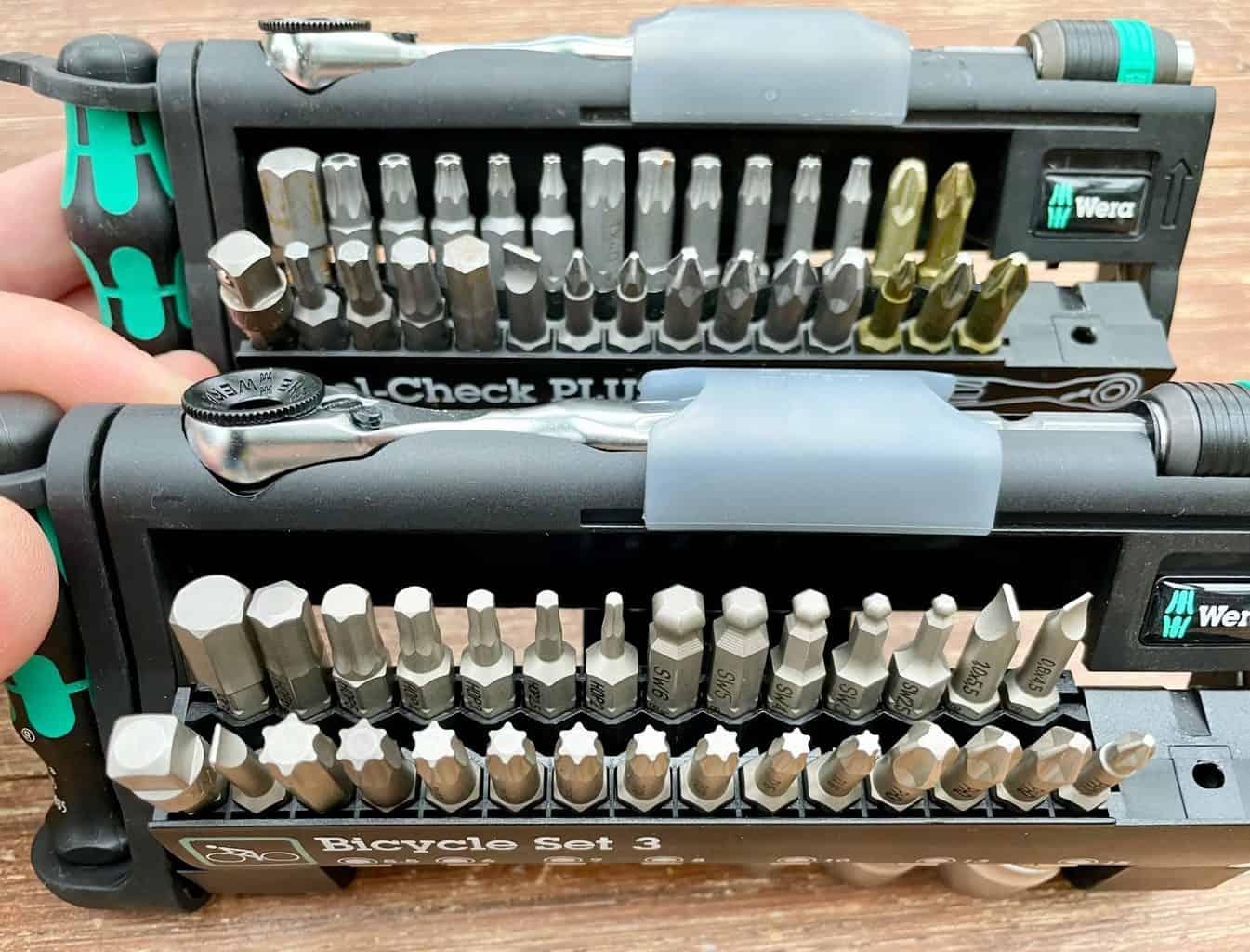 Wera-Bicycle-Set-3-und-Wera-Tool-Check-PLUS-geöffnet
