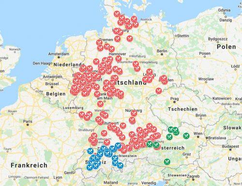 Wohnmobildinner melden und in die Karte eintragen