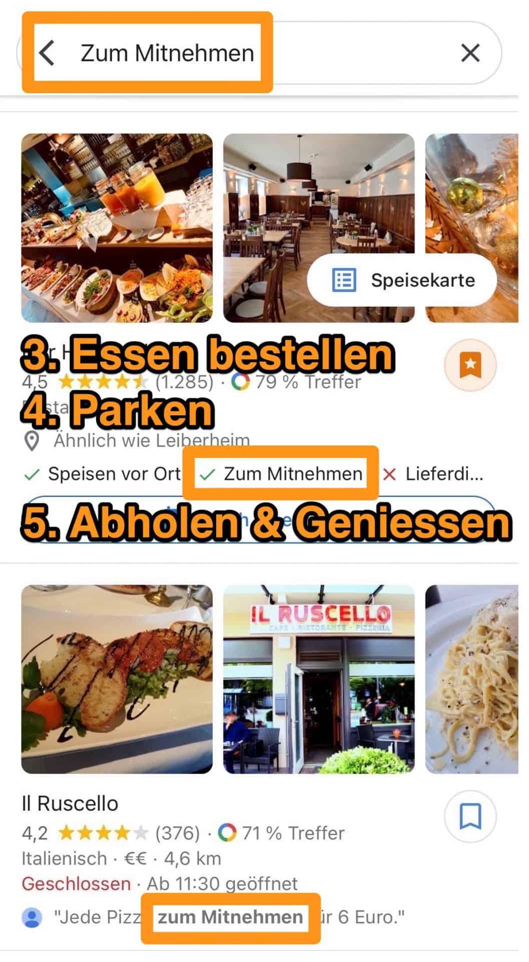 Wohnmobil-Dinner-Google-Maps-Mobile-App-Take-Away-zum-Mitnehmen