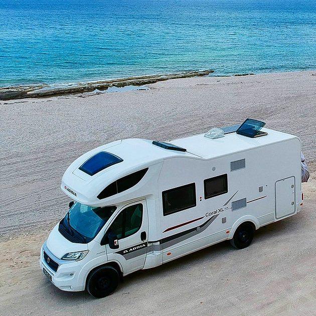 Wohnmobil am Strand e1548669417407
