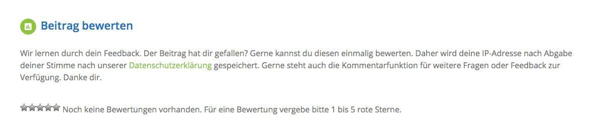 Wordpress_Beitrag_bewerten
