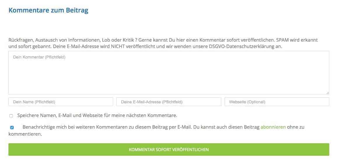 Wordpress_Kommentare_zum_Beitrag