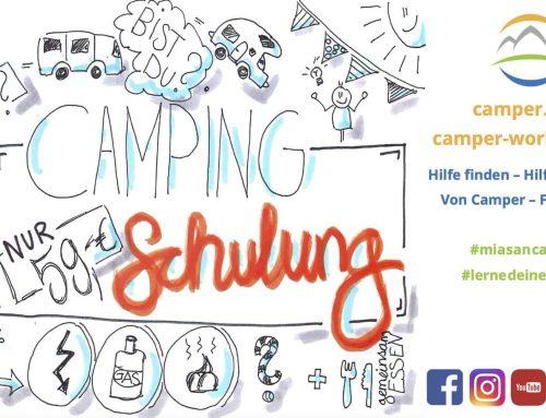 Presse und Partner für den Camper-Workshop
