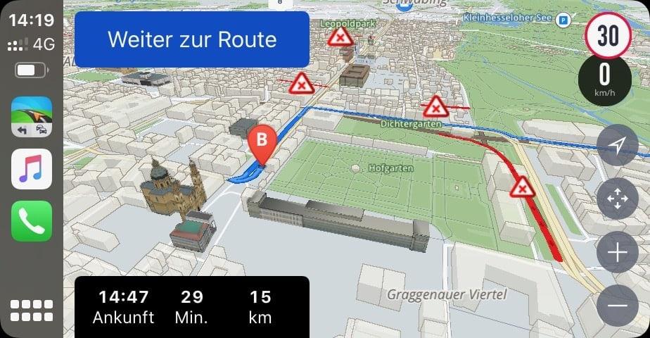iOS_App_Navigation_Sygic_Teststrecke