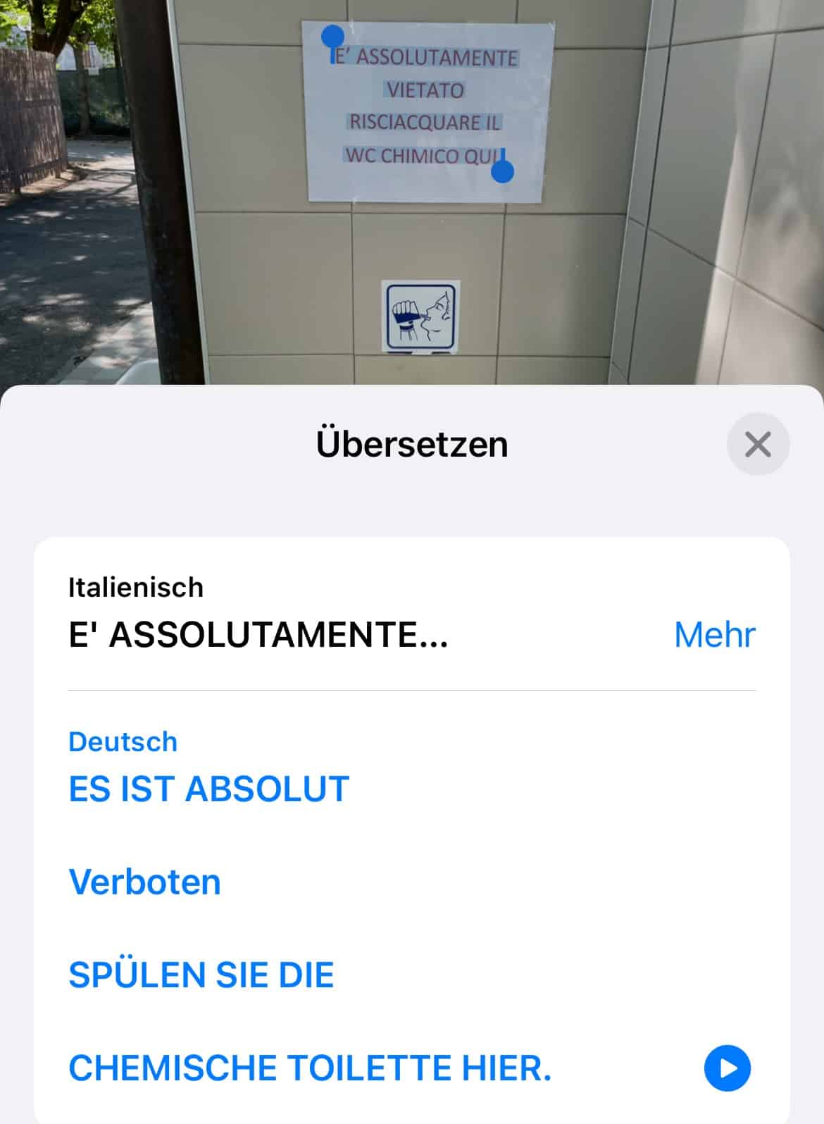 iPhone-iOS15-Fotos-enhaltender-Text-einfach-uebersetzen