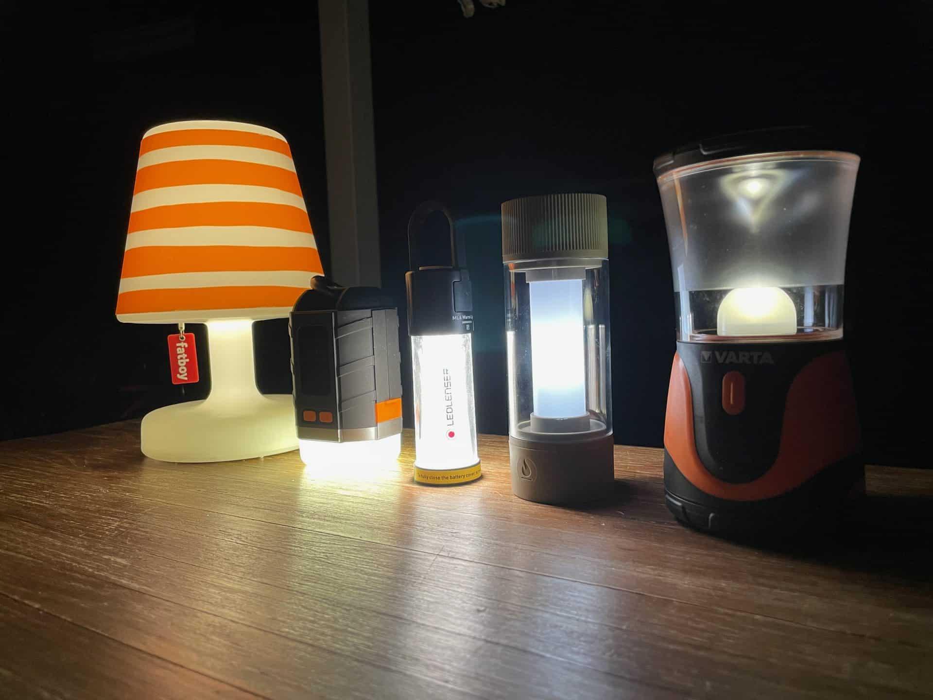 iPhone12Pro-Fotos-LED-Lampen-im-Vergleich-bei-Nacht