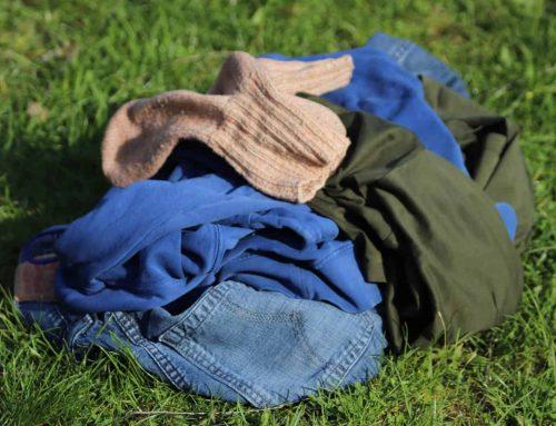 Wäsche waschen beim Campen